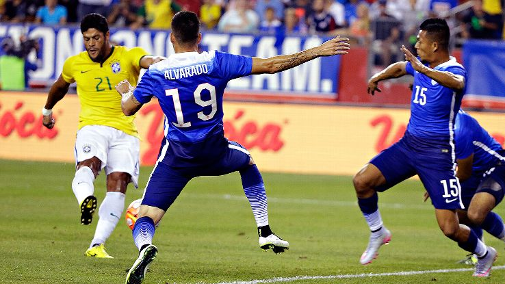After a decent display in the first half, things went south quickly for the U.S. defense in the second half.