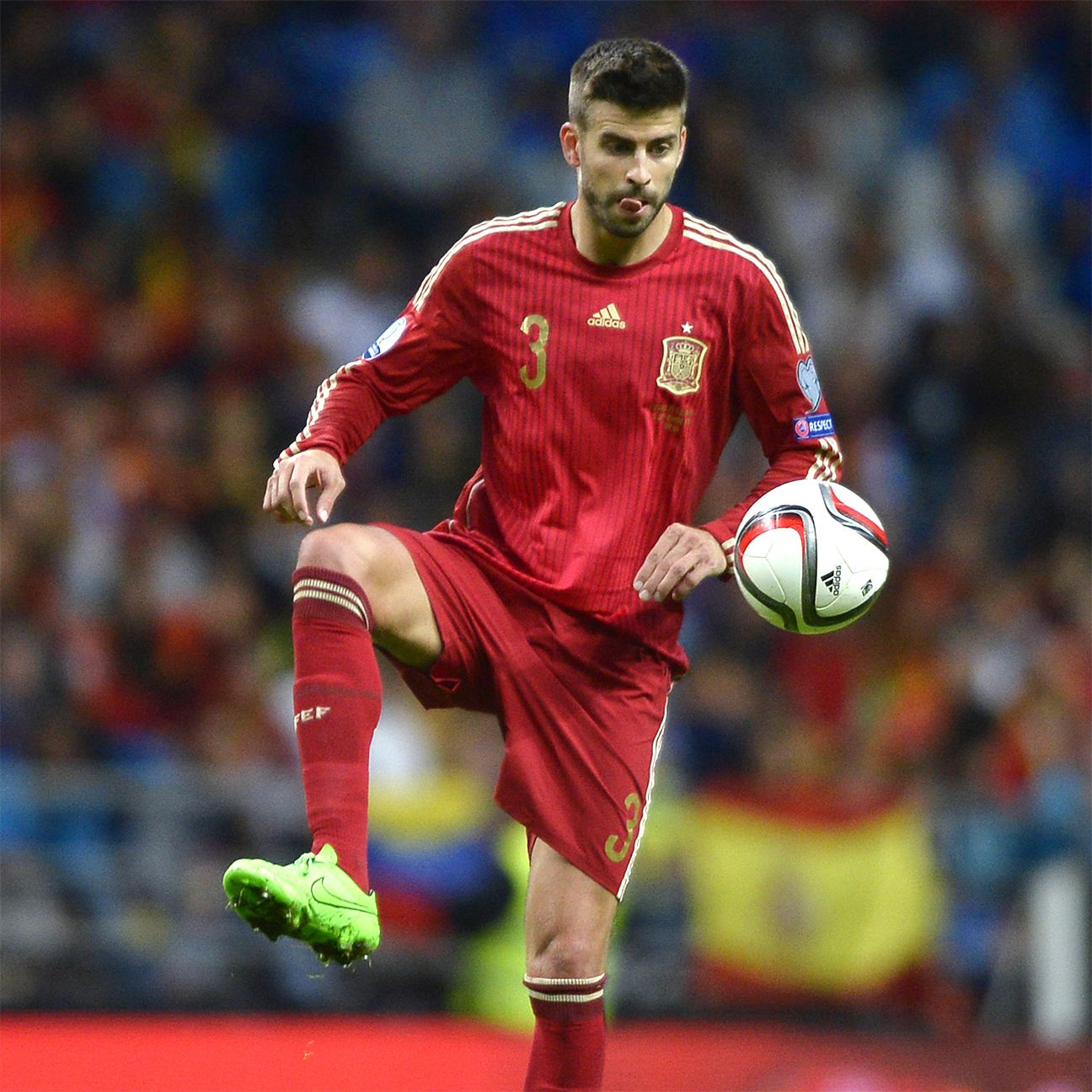 Gerard Pique featured on the Spain teams that took home the 2010 World Cup and Euro 2012.