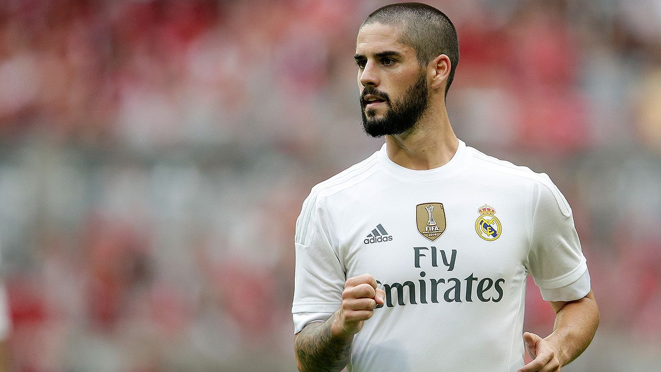 Isco has seen little action this season at the Bernabeu, however, the chances are still slim of a move abroad for the Spanish midfielder.