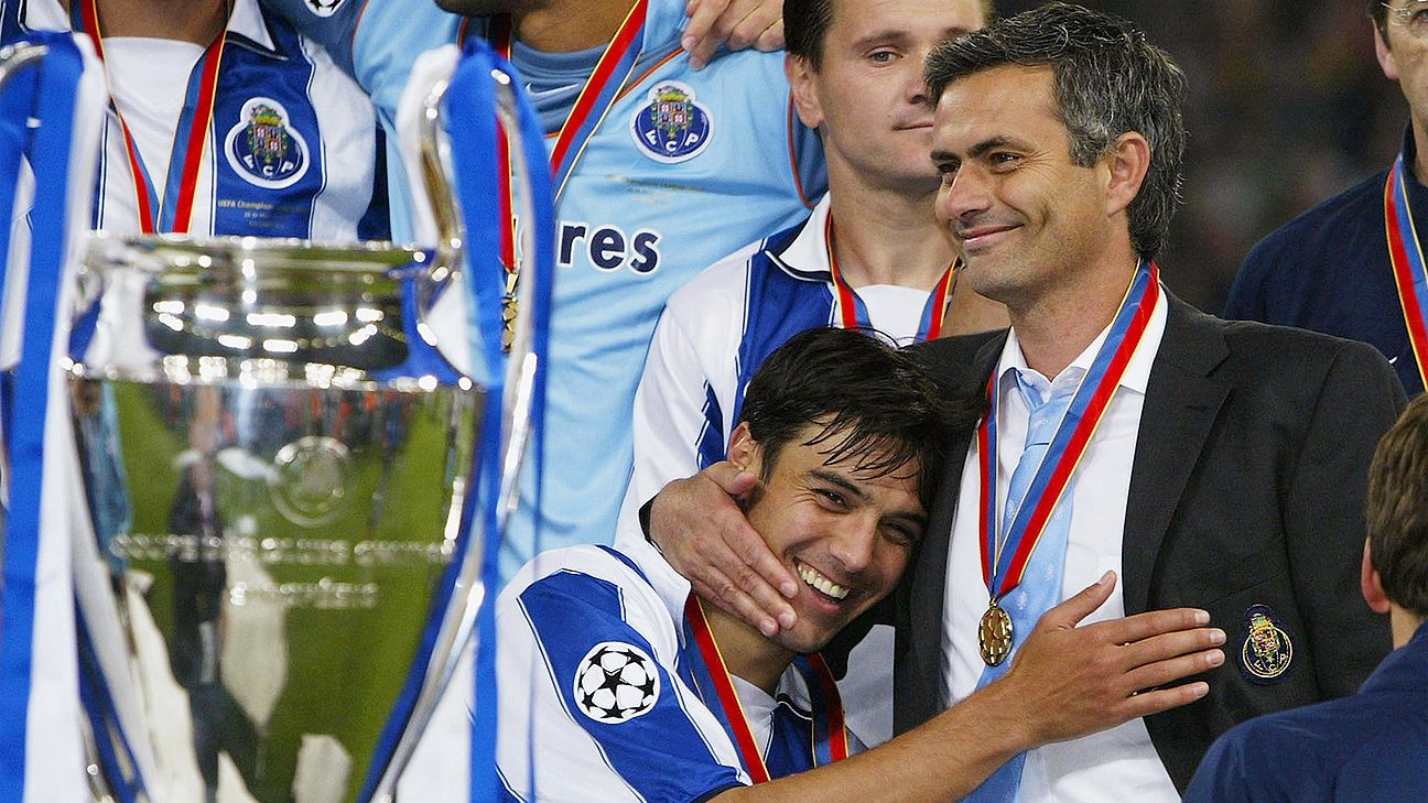 Image result for porto champions league jose mourinho