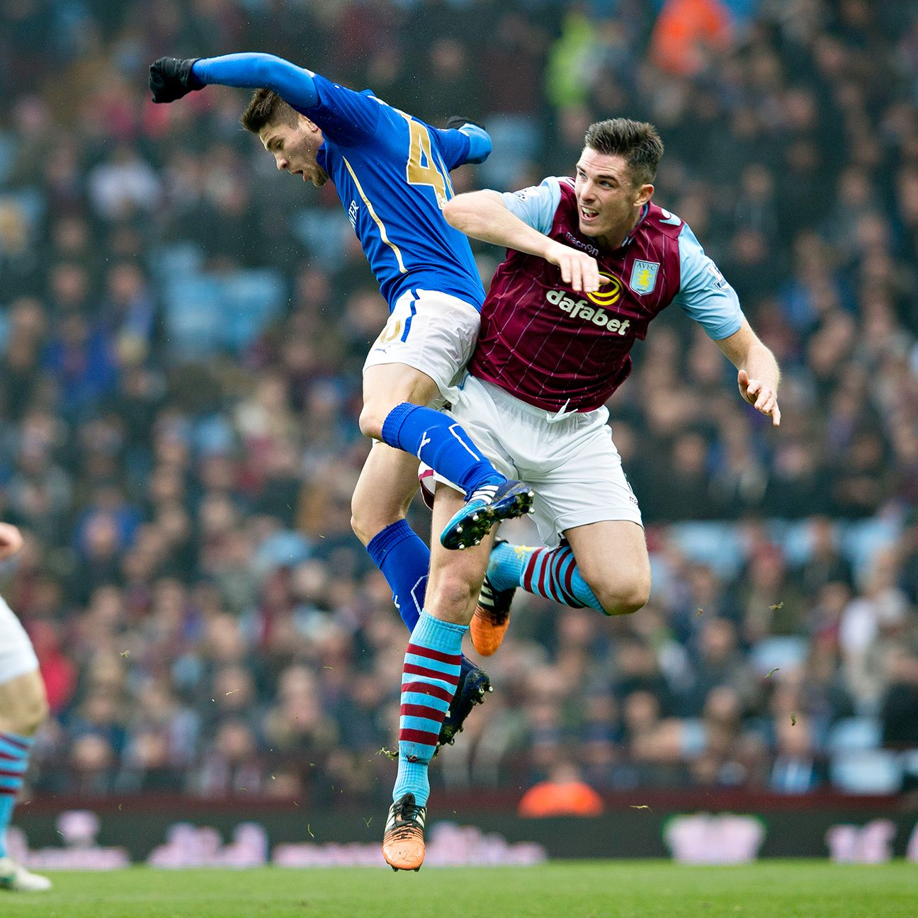 It seems to be a tense affair any time Aston Villa face Leicester.
