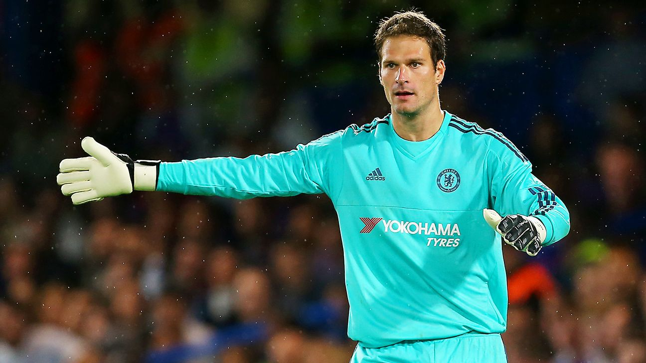 Asmir Begovic keen for a reunion with John Terry at Bournemouth