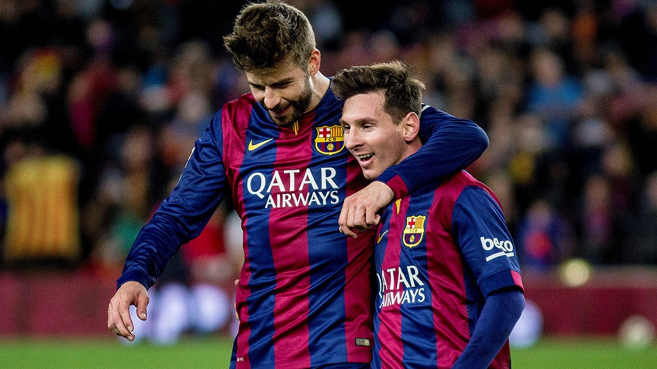 Madrid struggle Stoke would Real and Barcelona  Pique - at