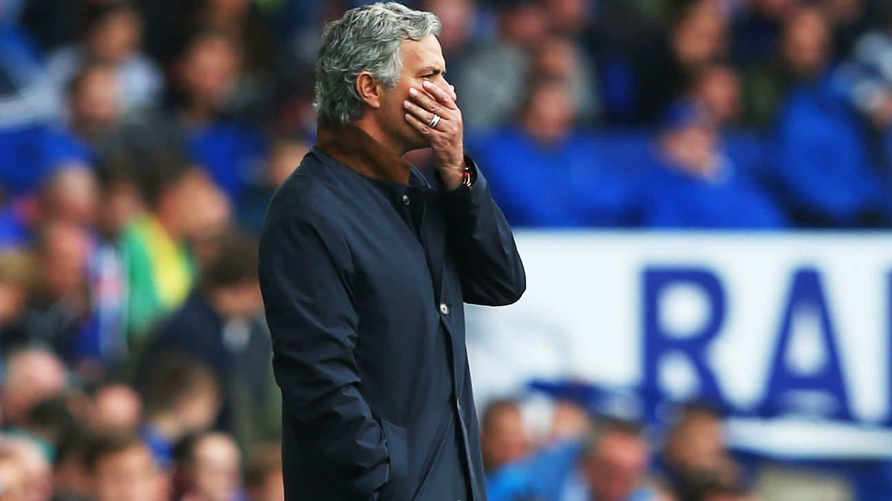 Jose Mourinho not feeling Chelsea pressure and rues luck at Everton