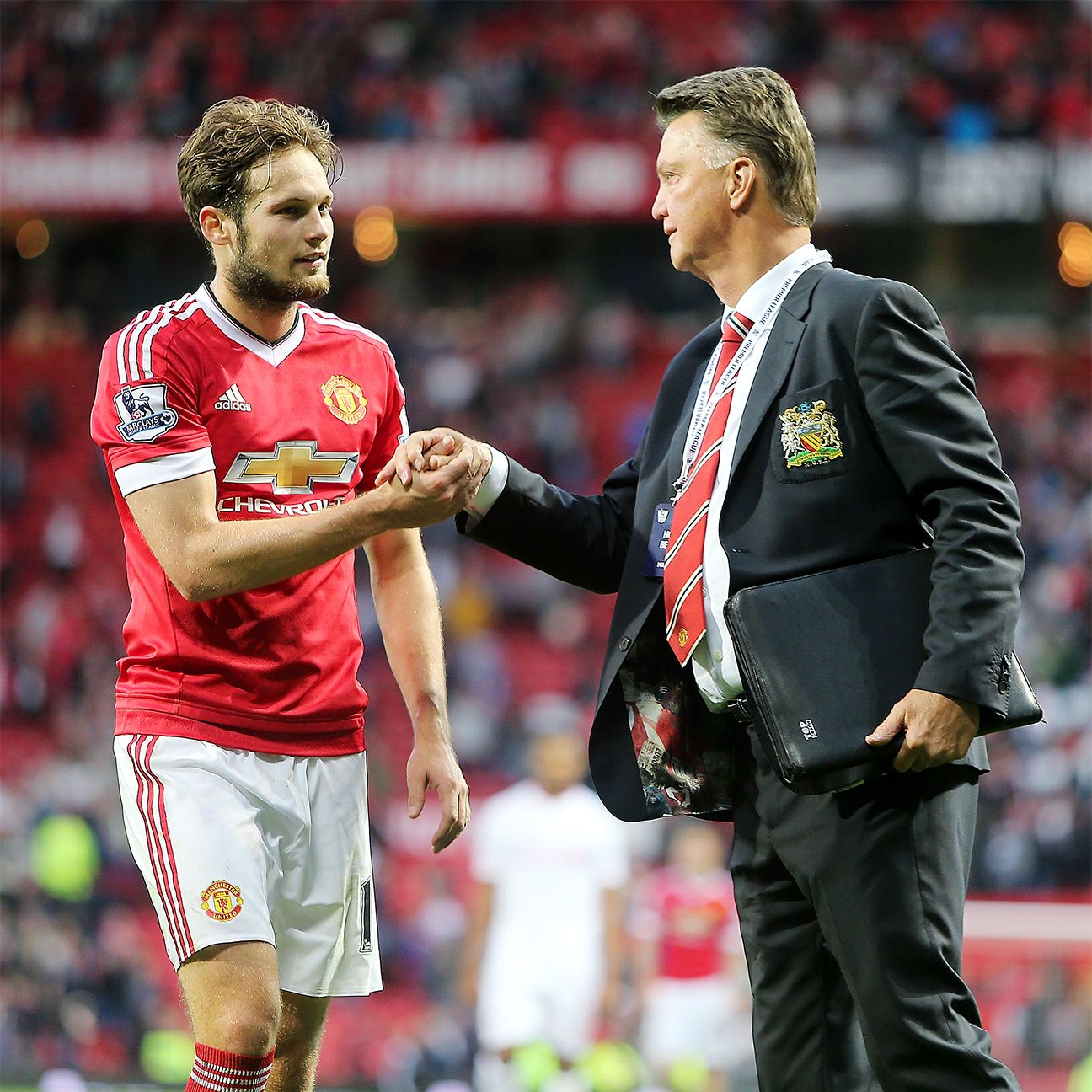 Daley Blind has become a stalwart at centre-back for Man United boss Louis van Gaal.