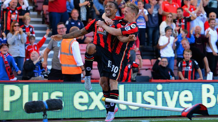 Bournemouth will be looking to build off of last week's win over Sunderland when they visit Stoke.