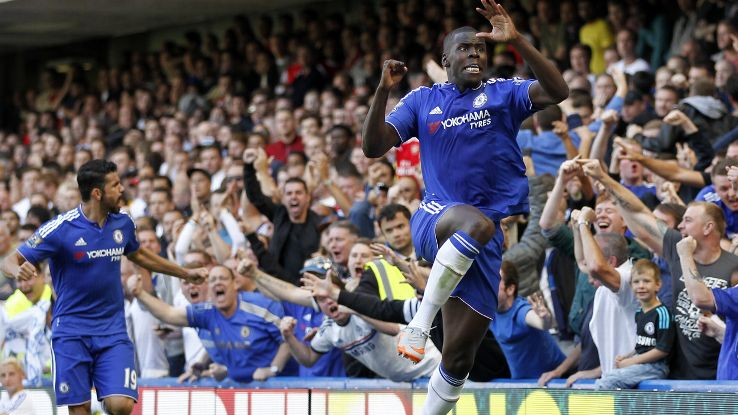 Kurt Zouma was an anchor in defence and delivered the key opening goal for the Blues.