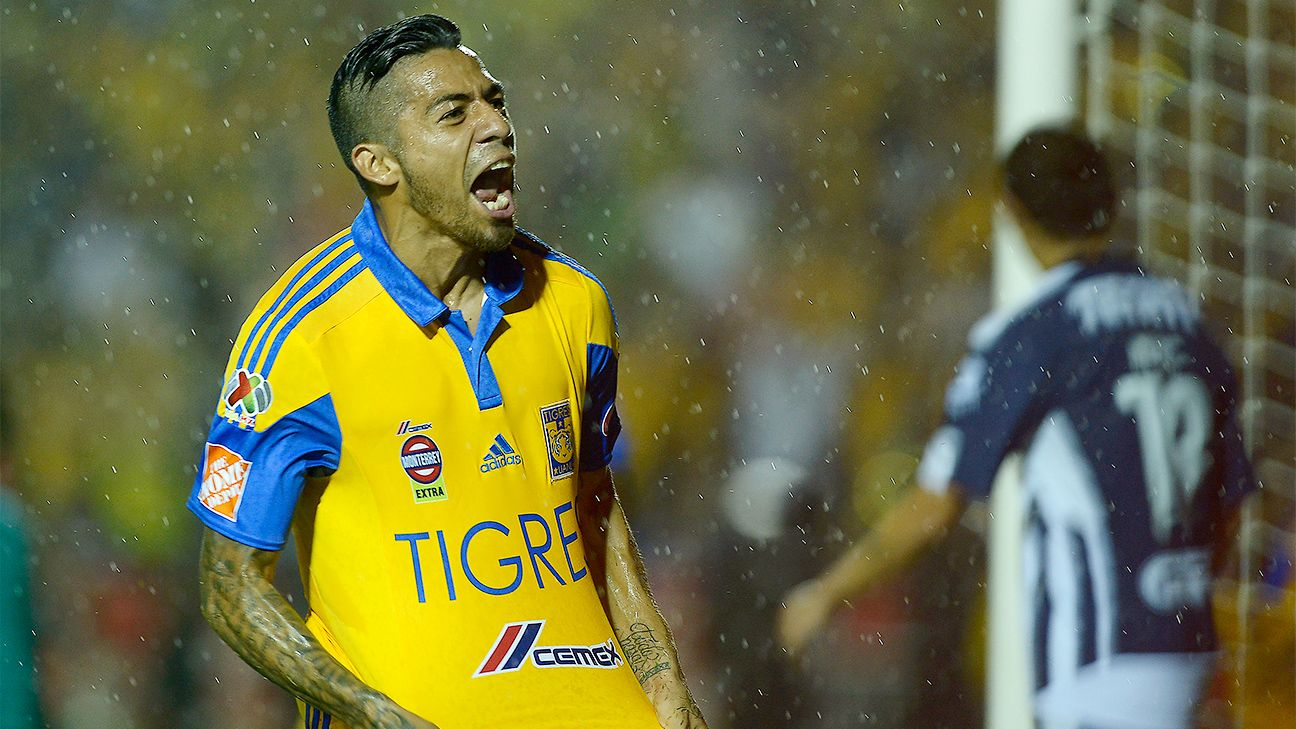 Back in Liga MX after stints at Villarreal and Rayo Vallecano, Javier Aquino has become one of Tigres' key attacking pieces in their run to the Apertura final.