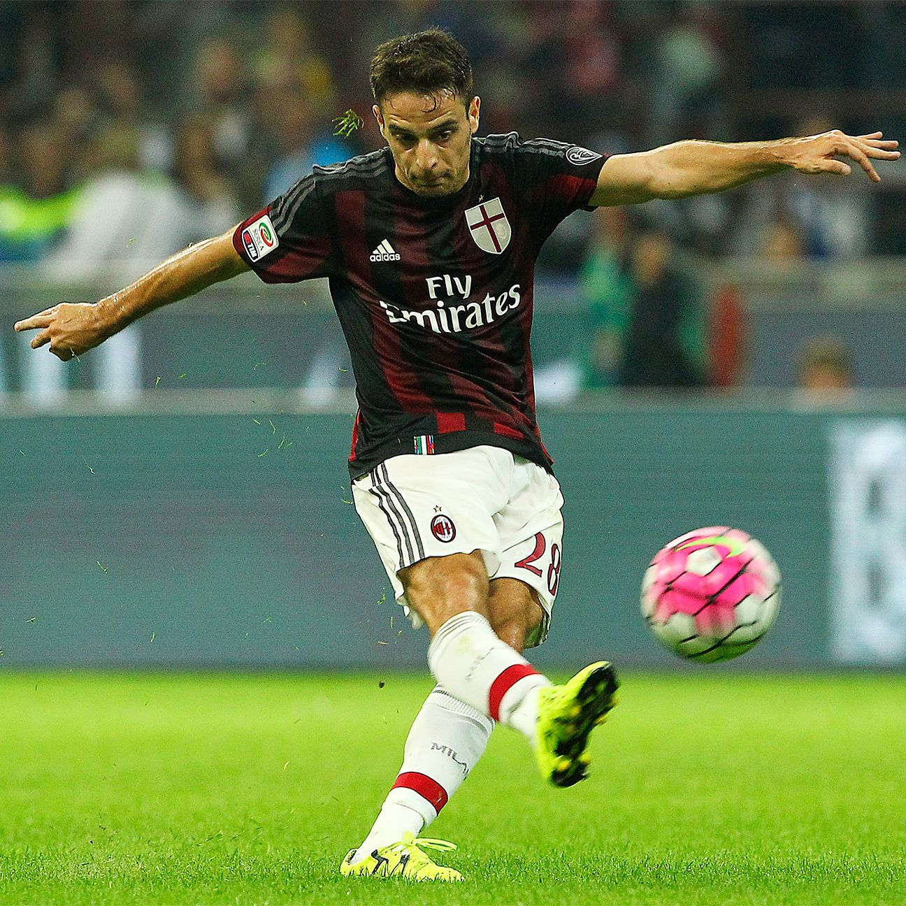 Giancomo Bonaventura is part of a midfield trio that has things at AC Milan looking up.