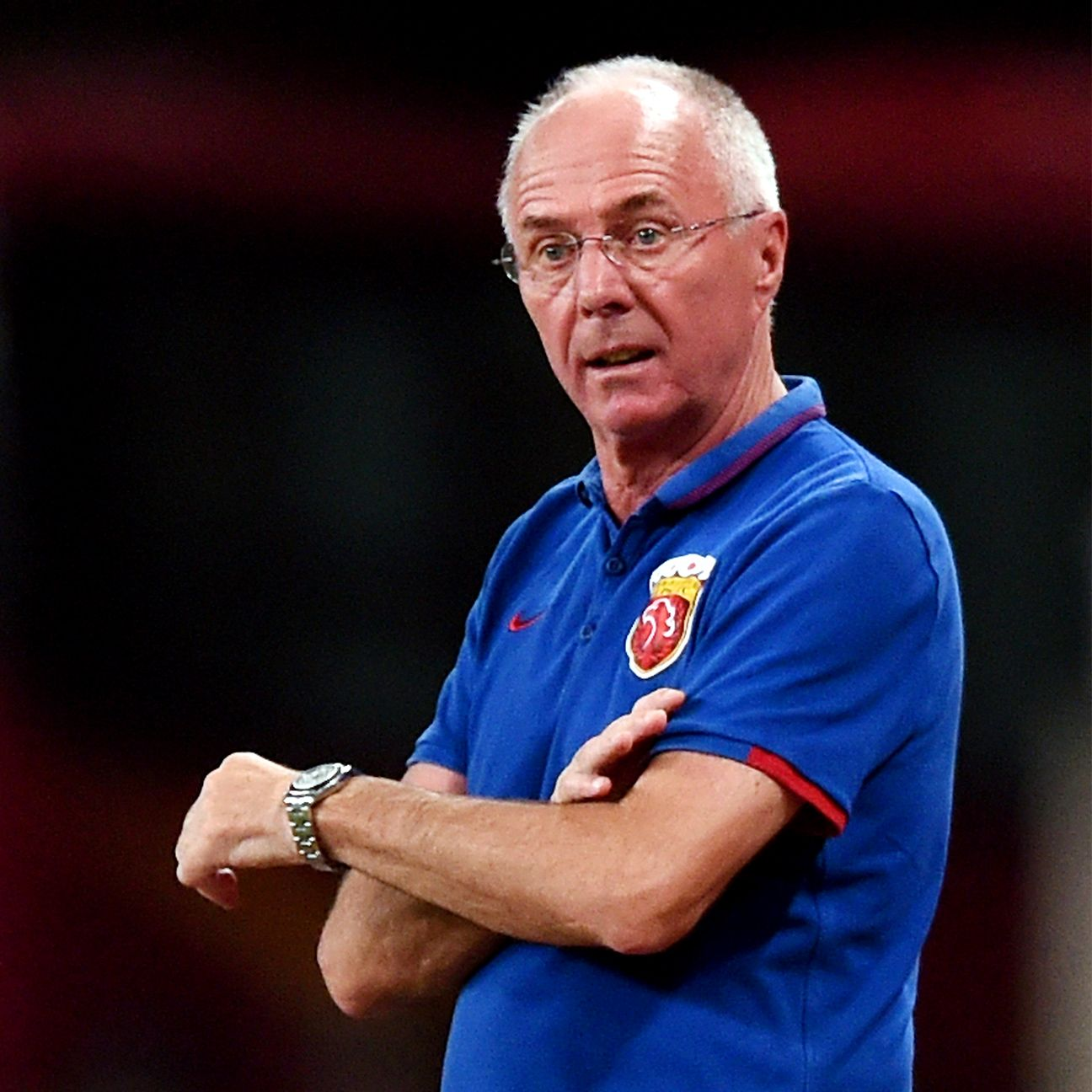 Former England boss Sven-Goran Eriksson is seeking to lead Shanghai SIPG to the Chinese Super League title.