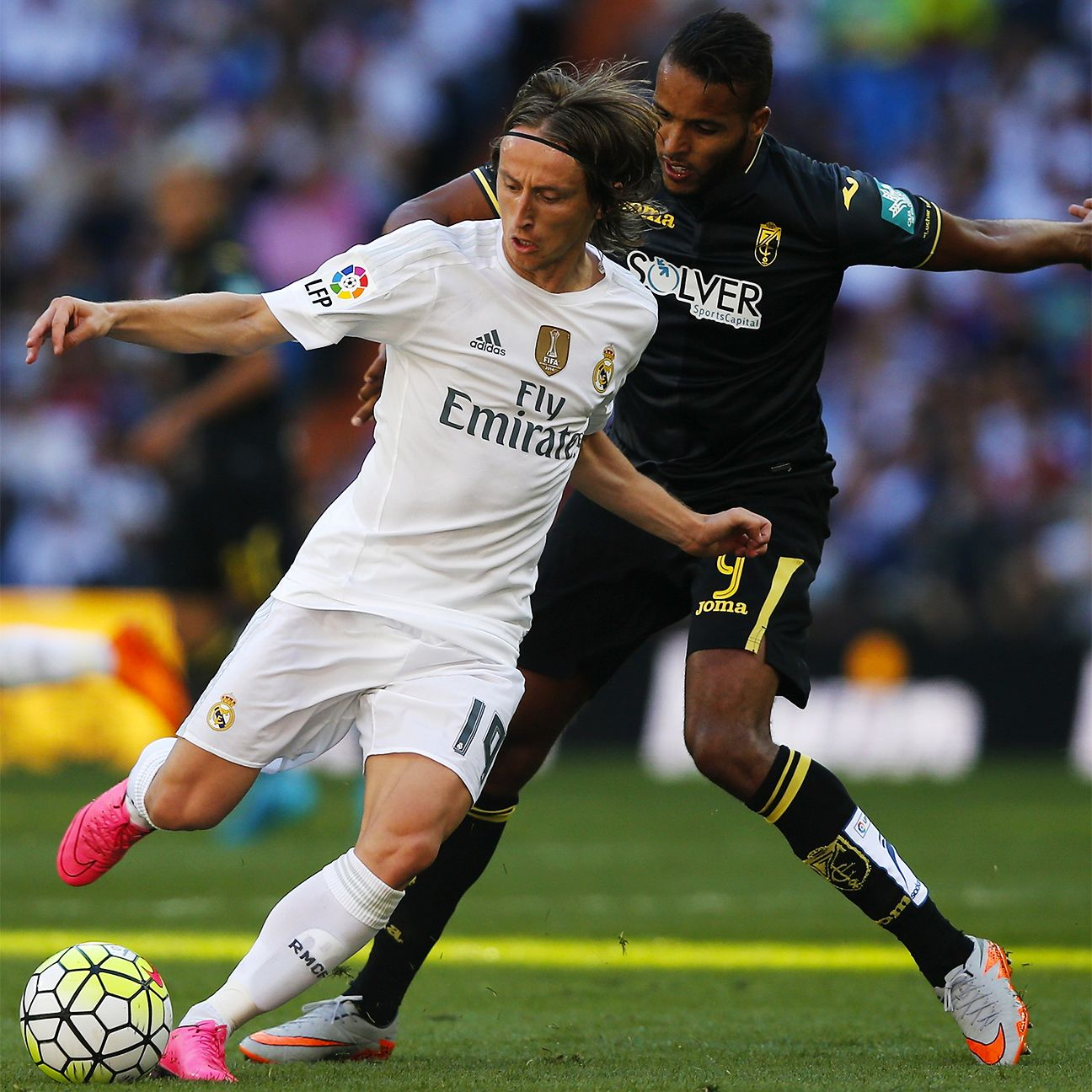 Luka Modric's play in midfield was a key component in Real's victory.