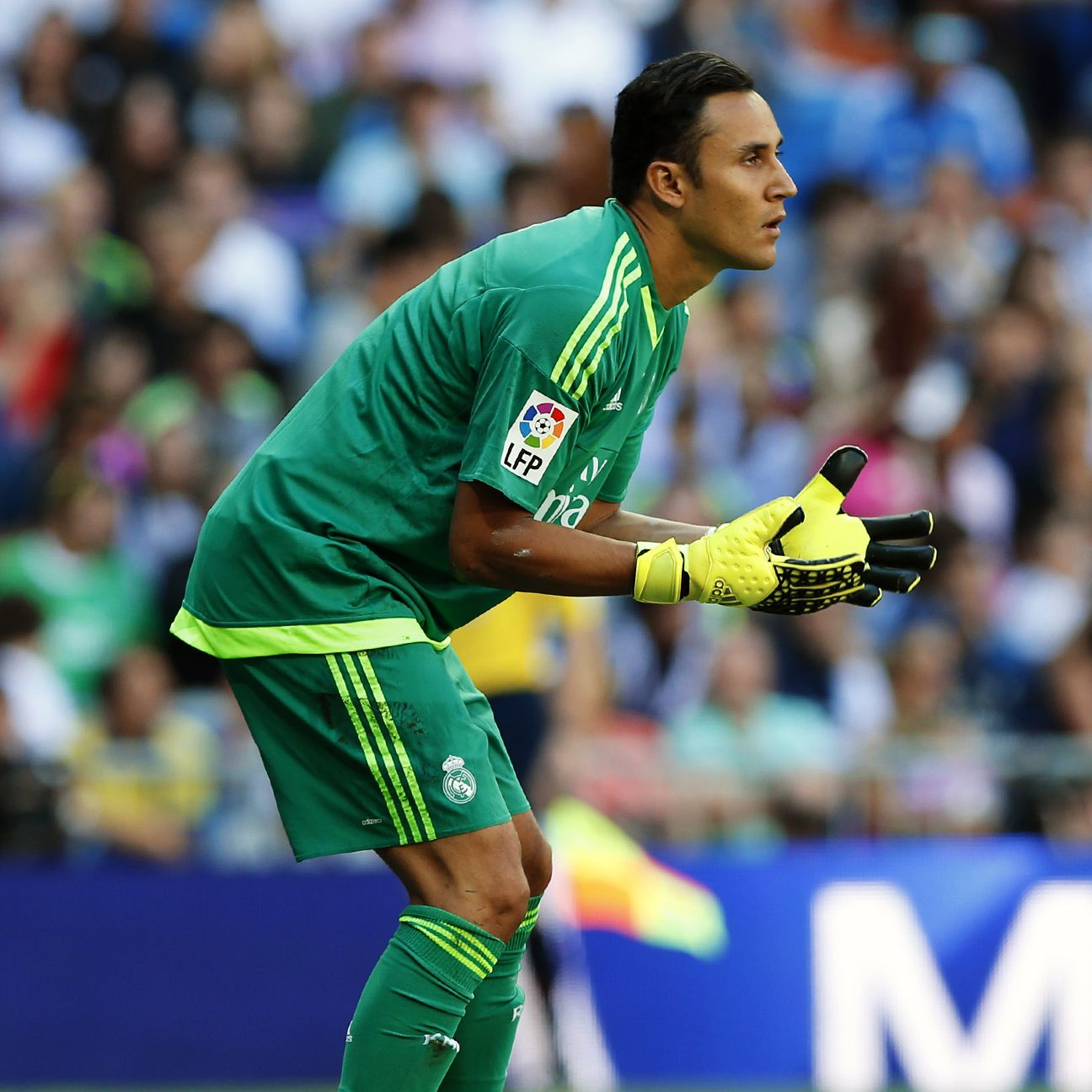 Real Madrid goalkeeper Keylor Navas has yet to concede this season.