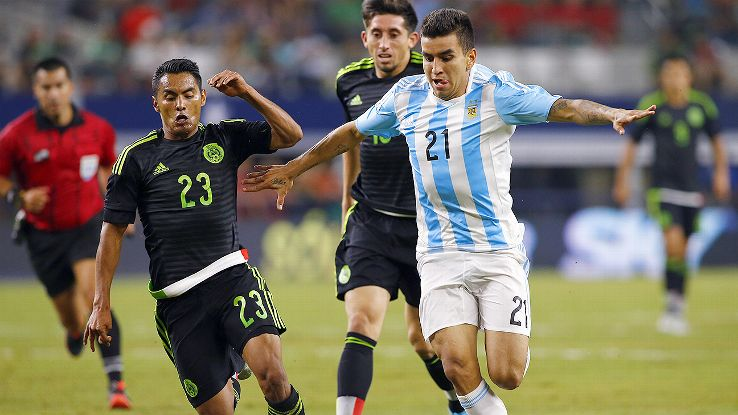 Correa's recent exploits earned the young striker a call-up for Argentina's most recent friendlies.