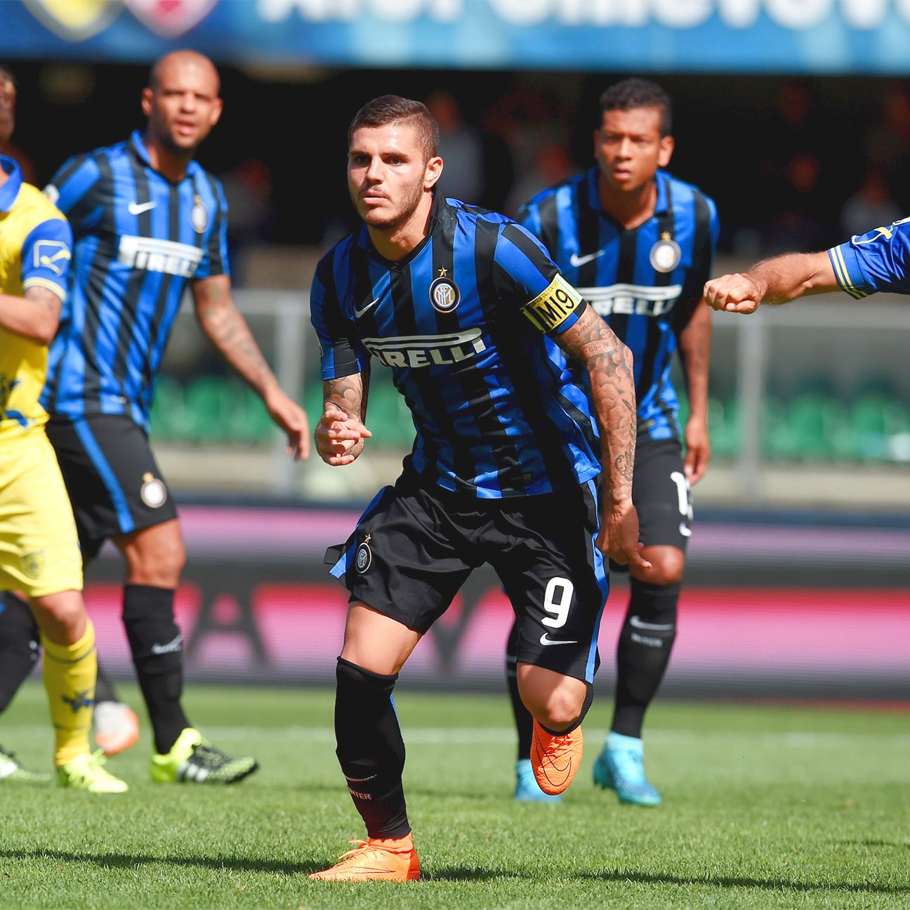 Mauro Icardi symbolised Inter Milan's newfound determination by scoring the winner over the weekend against Chievo.