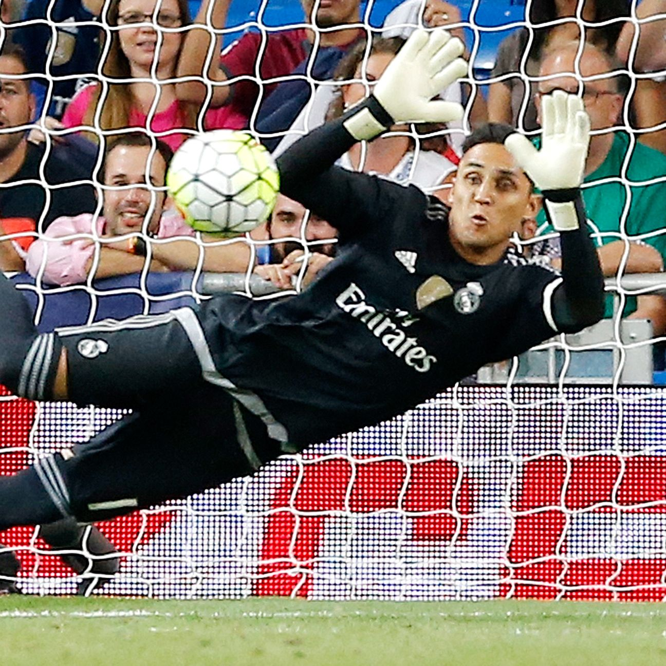 Real Madrid goalkeeper Keylor Navas has yet to concede this season in La Liga.
