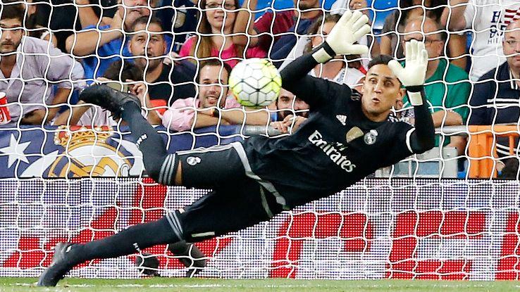 Real Madrid goalkeeper Keylor Navas has yet to concede this season in La Liga.