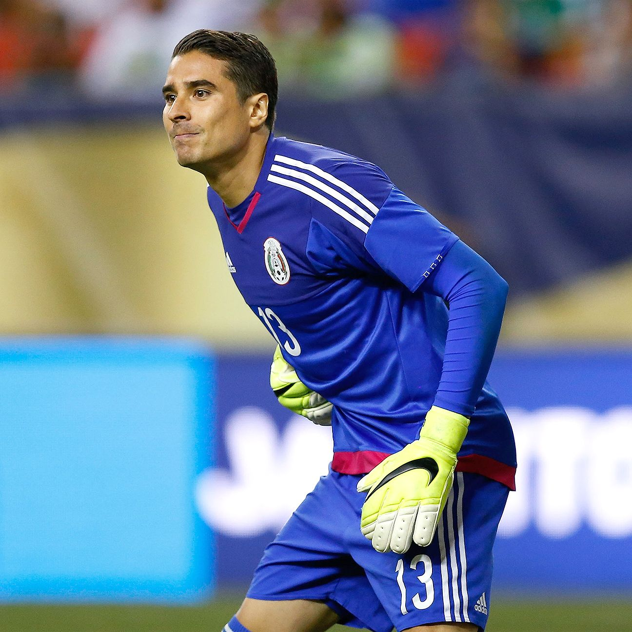 After starting in goal during Mexico's Gold Cup conquest in 2015, it remains to be seen if the Malaga stopper will be <i>El Tri's</i> No. 1 at the Copa America Centenario.