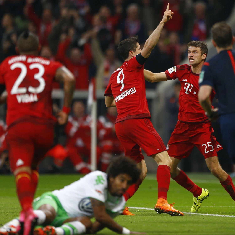 Bayern Robert Lewandowski scores five in nine minutes - ESPN FC