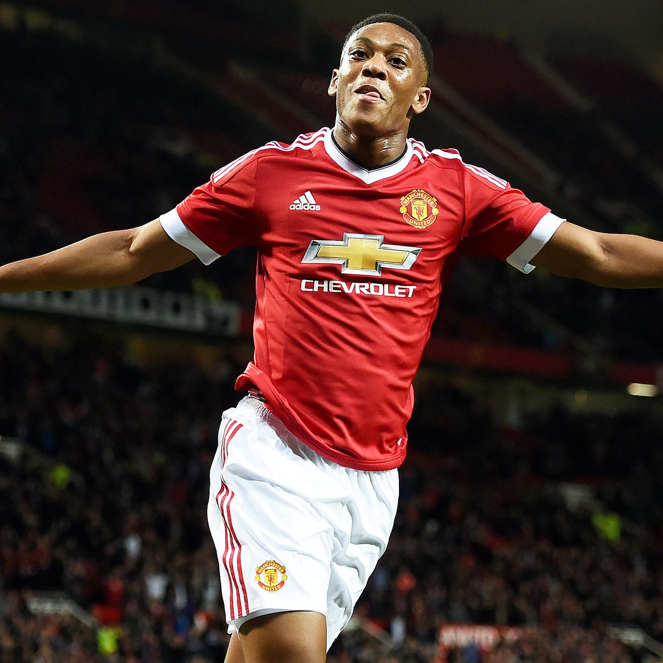 Anthony Martial has tallied five goals in all competitions so far this season for Manchester United.