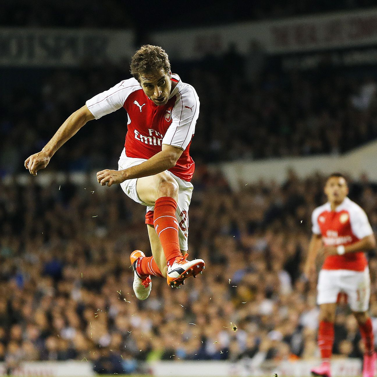 The little-used Mathieu Flamini proved to be Arsenal's match-winner on Wednesday night.