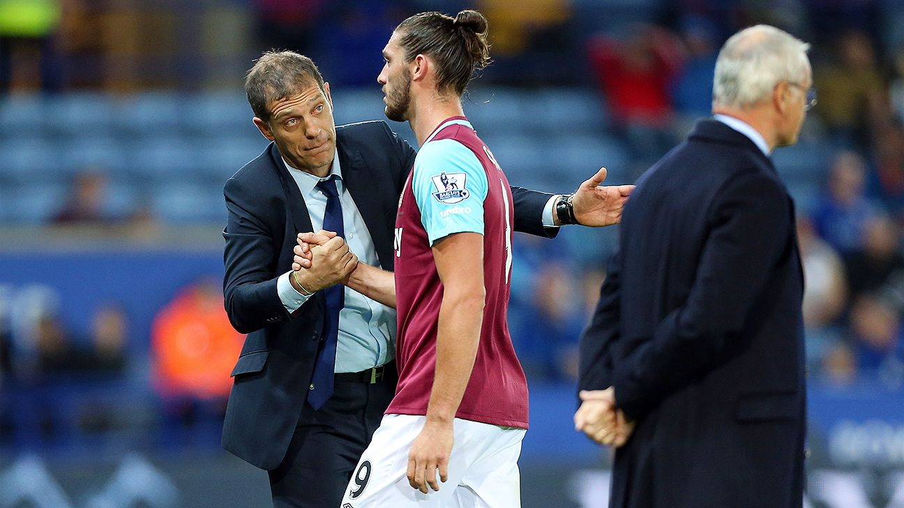 Andy Carroll has started just three games this season for West Ham manager Slaven Bilic.