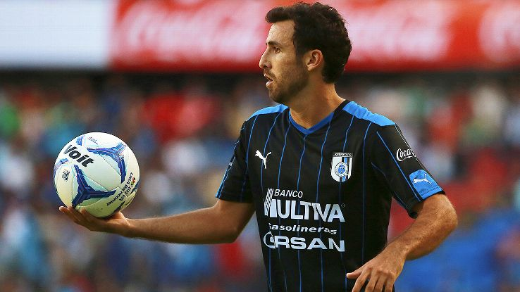 Jonathan Bornstein has started eight of Queretaro's nine matches in the 2015 Apertura.