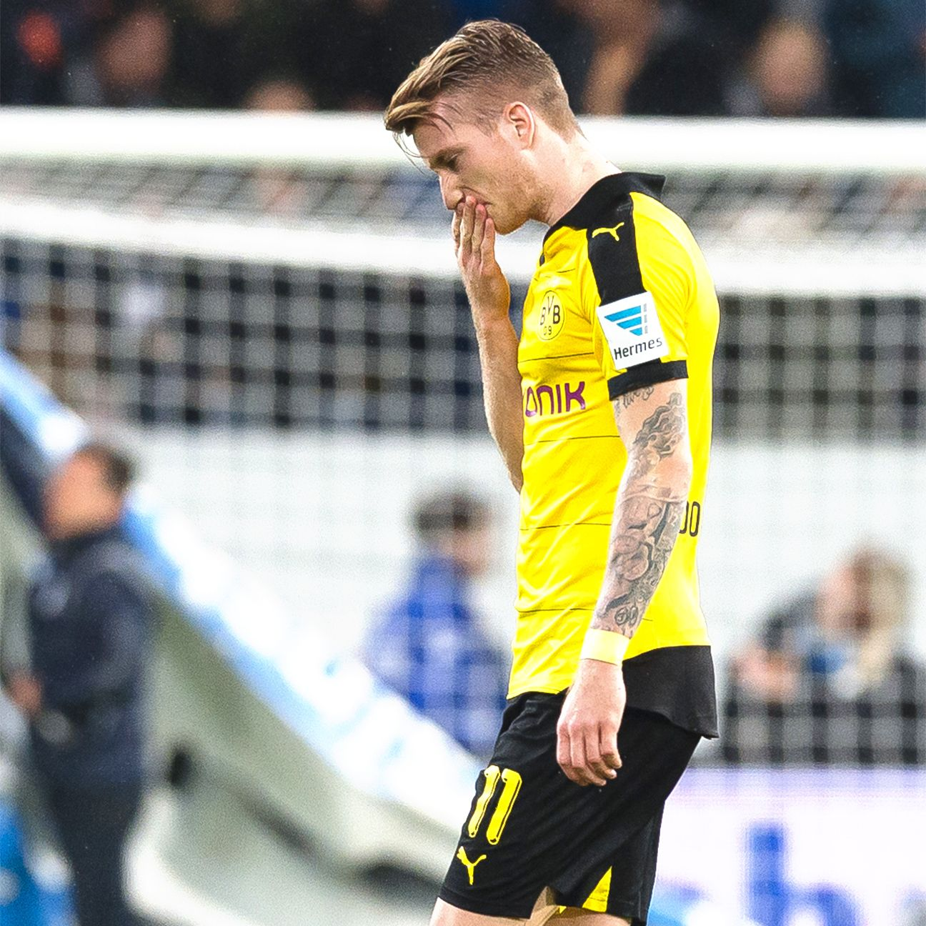 Marco Reus struggled for Dortmund in his first match since late August.