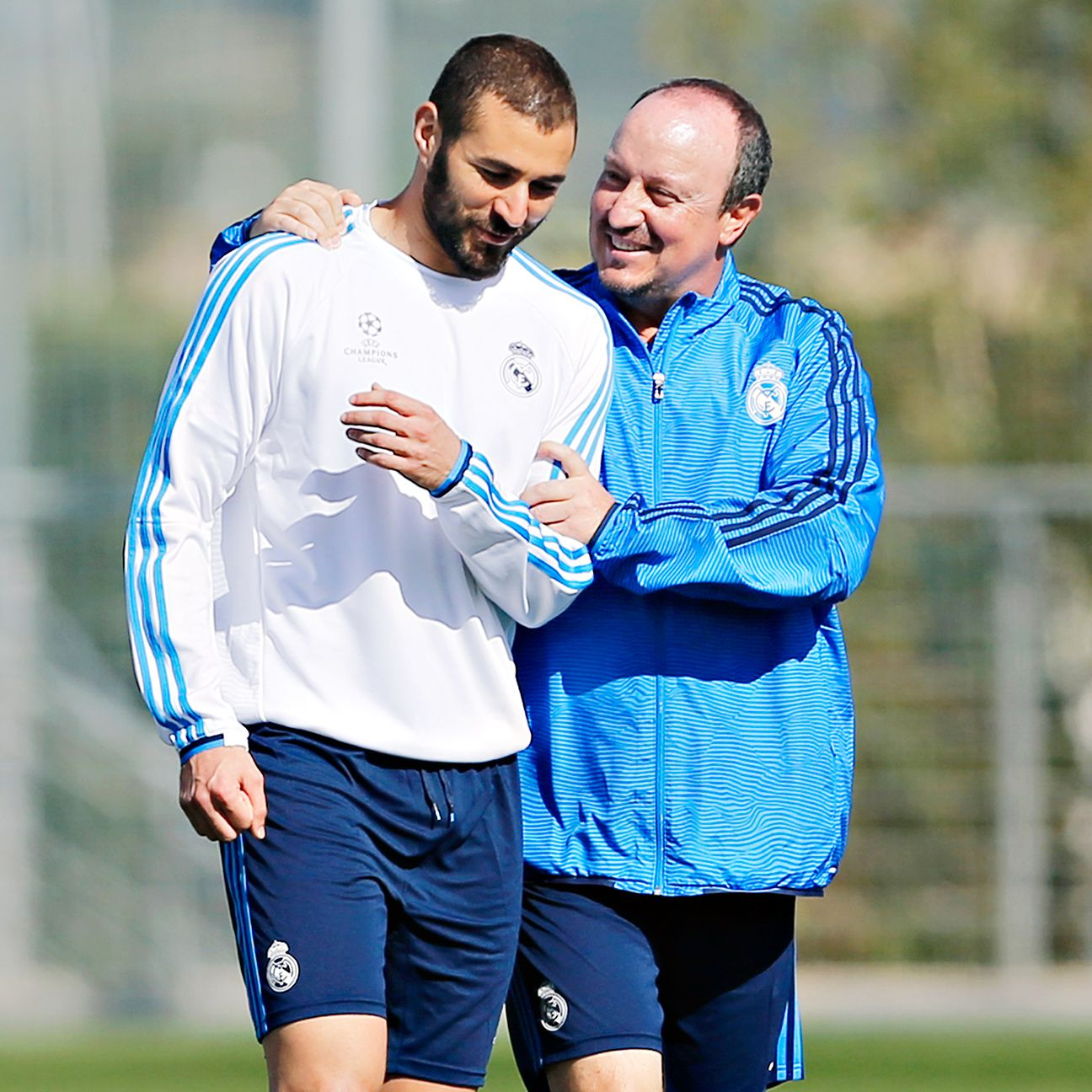 Karim Benzema has five goals in four league matches for Rafa Benitez's Real Madrid.