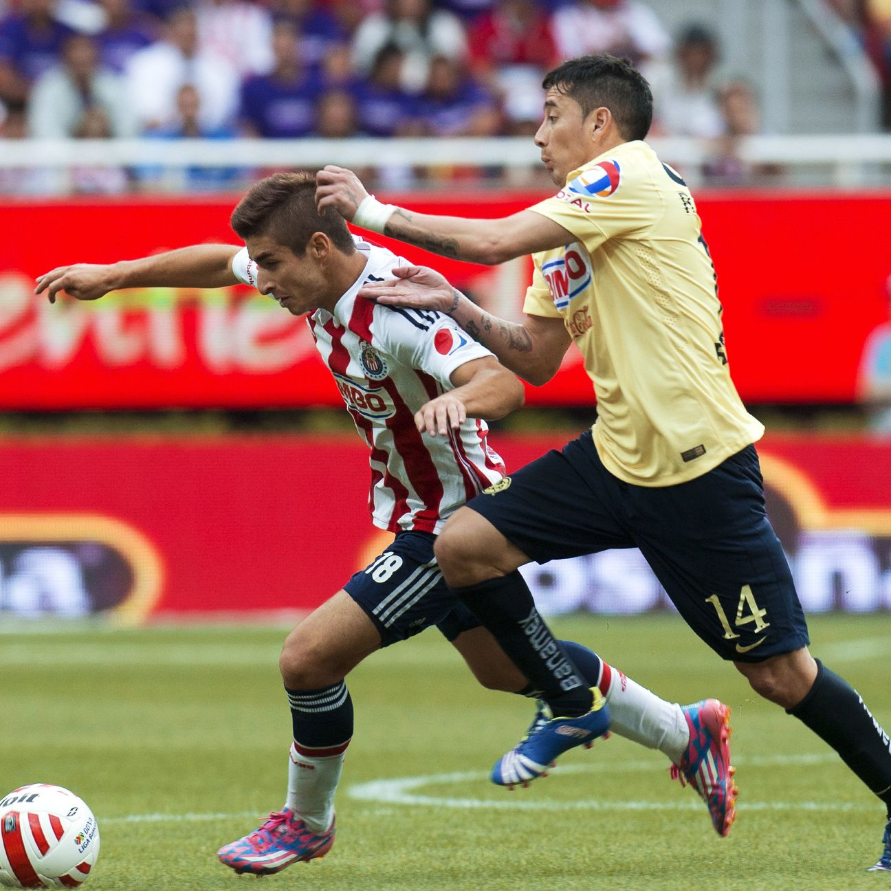 Chivas will need the speed of players like Isaac Brizuela to make a difference against America.