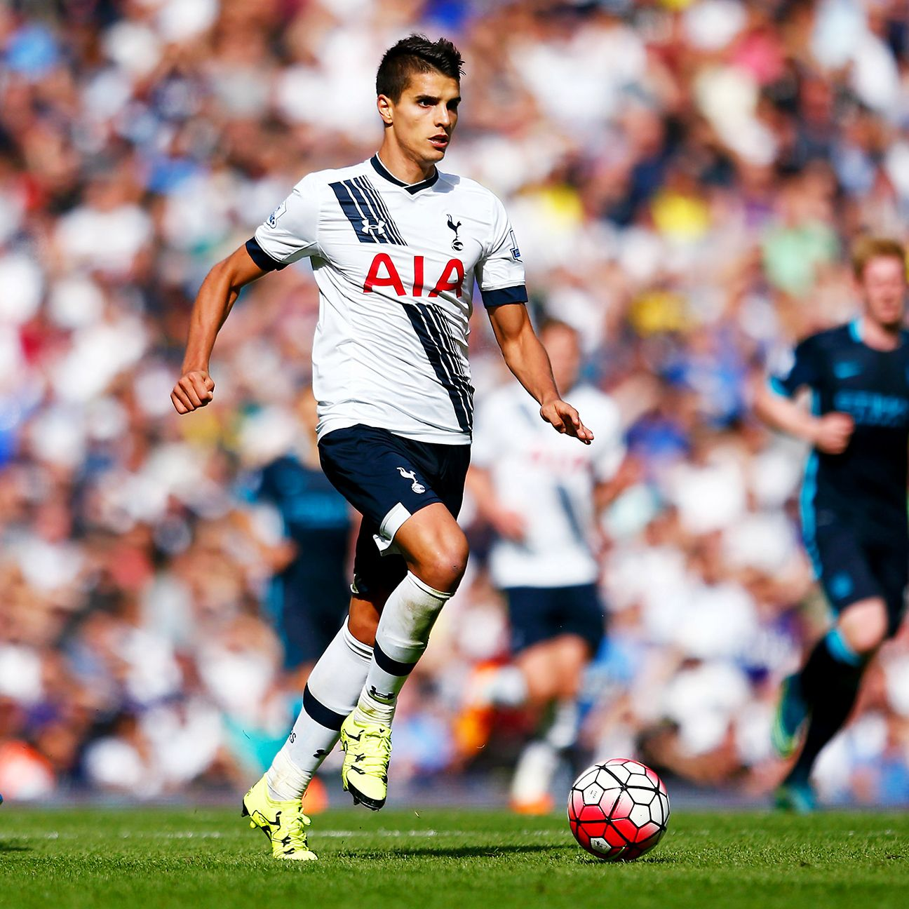 Erik Lamela enjoyed one of his finest days in a Tottenham shirt in Saturday's win over Man City.