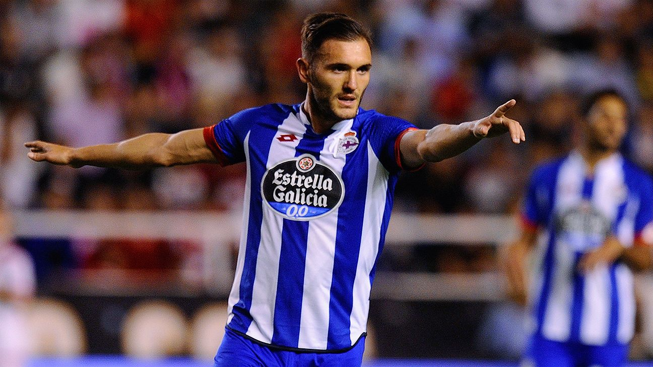 Deportivo are challenging for a spot in Europe next season thanks in part to the goalscoring exploits of Lucas Perez.
