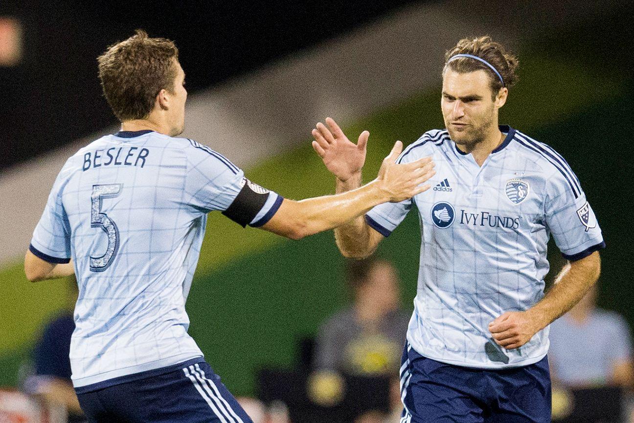 Sporting KC gives Graham Zusi, Matt Besler multi-year contract extensions