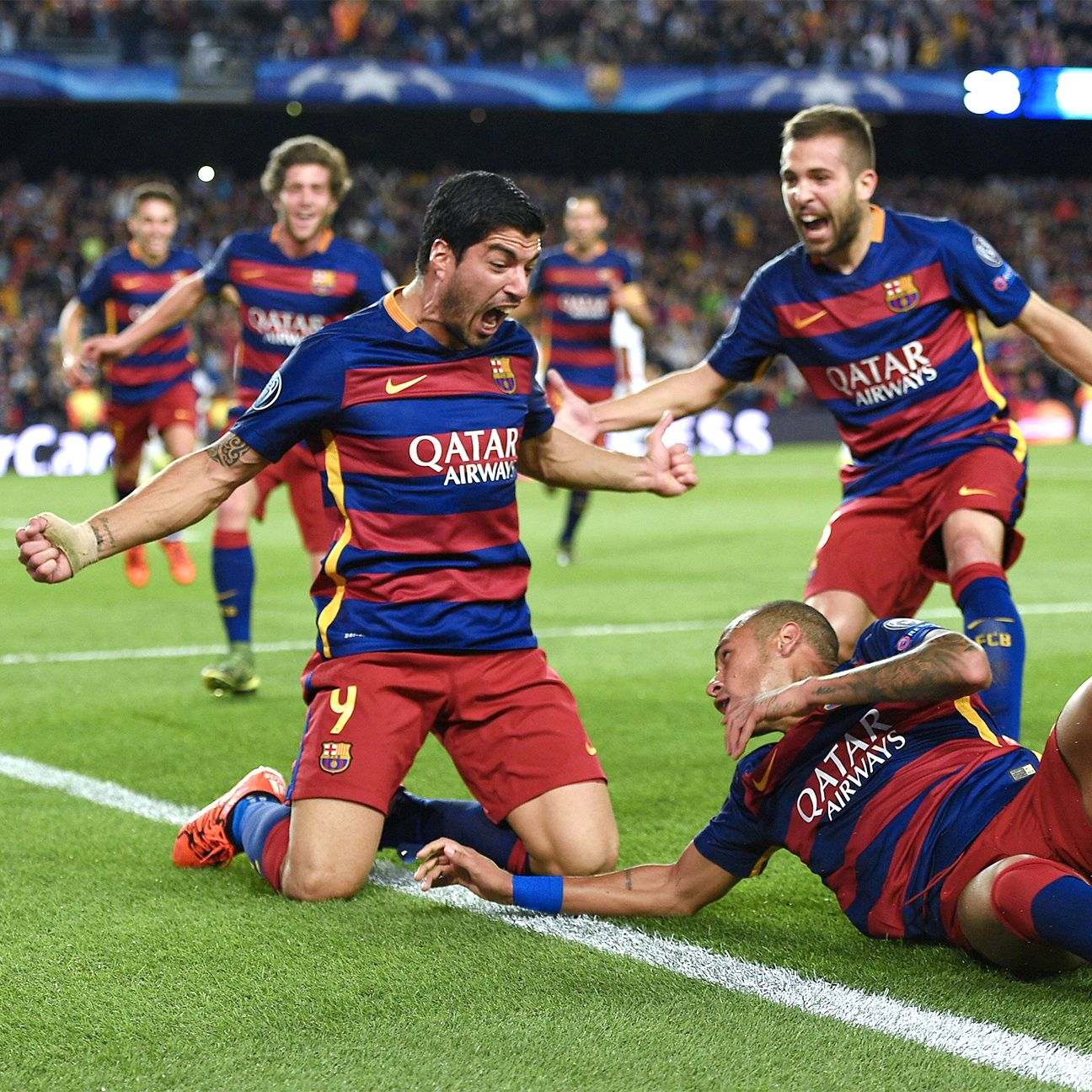 Luis Suarez capped off Barcelona's scintillating comeback with a sizzling right-footed strike in the 82nd minute.