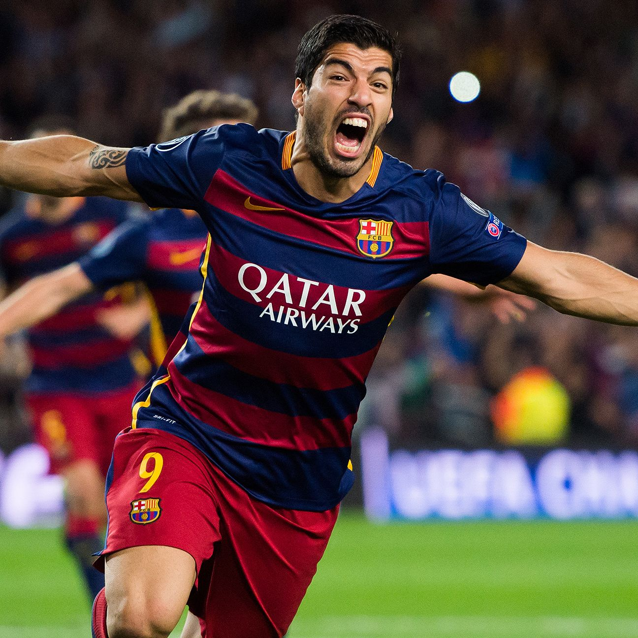 Since Lionel Messi's injury, Luis Suarez has scored the winner in each of Barcelona's two victories, including Tuesday's 2-1 triumph over Bayer.