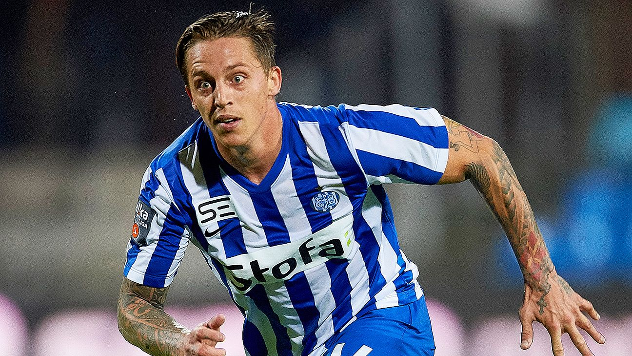 Nicki Bille Nielsen scored both goals for Esbjerg against Hobro on Monday.