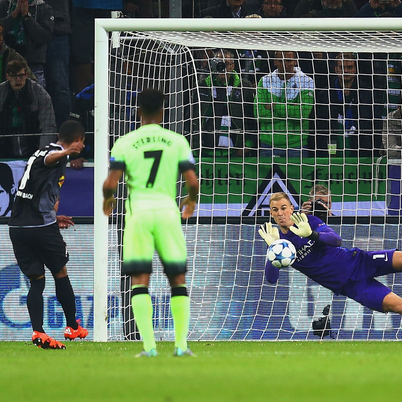 Joe Hart came up huge in the first half with a penalty save to help pave the way for City's comeback.