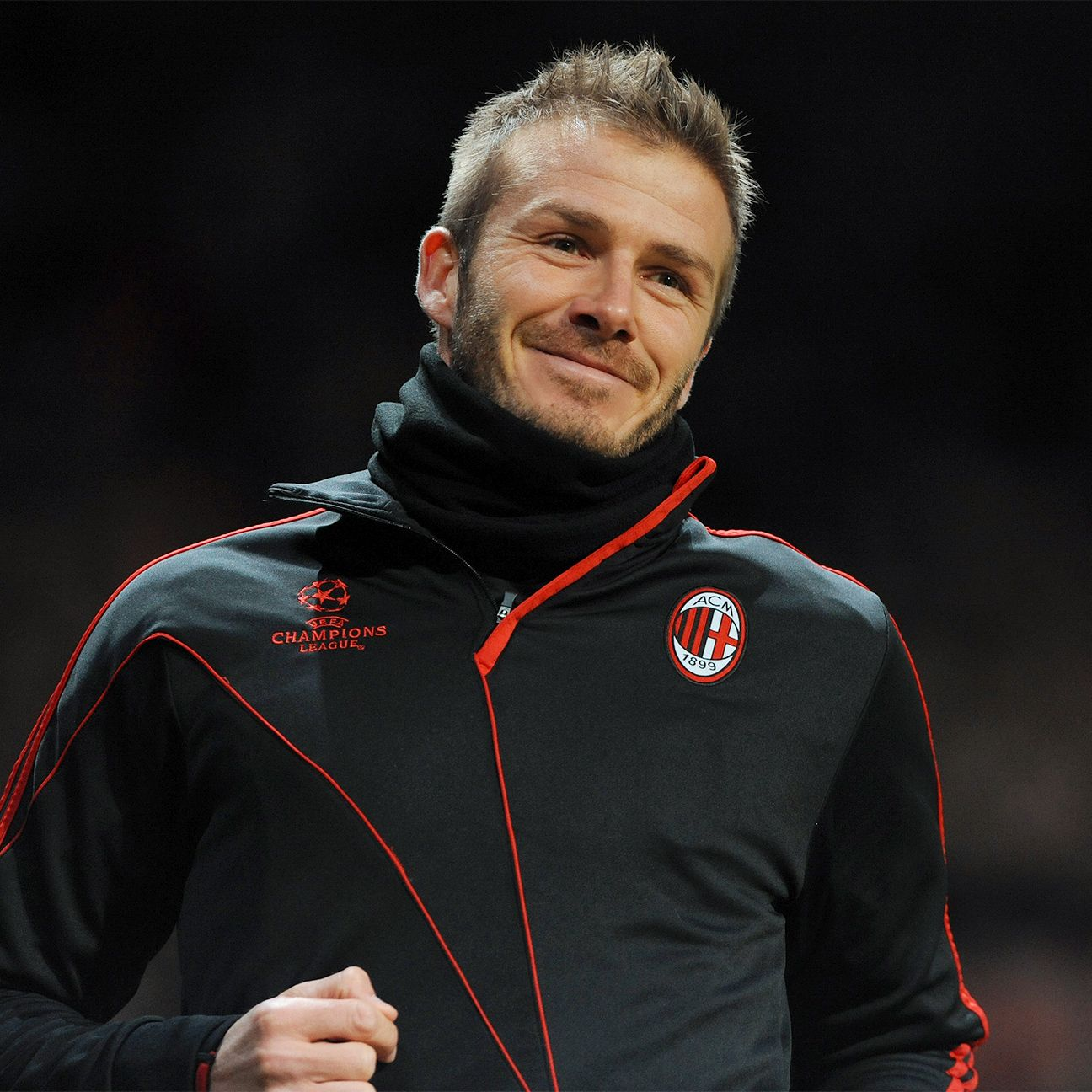 David Beckham has a feeling Milan can still win the Champions League, even though they're not in it.