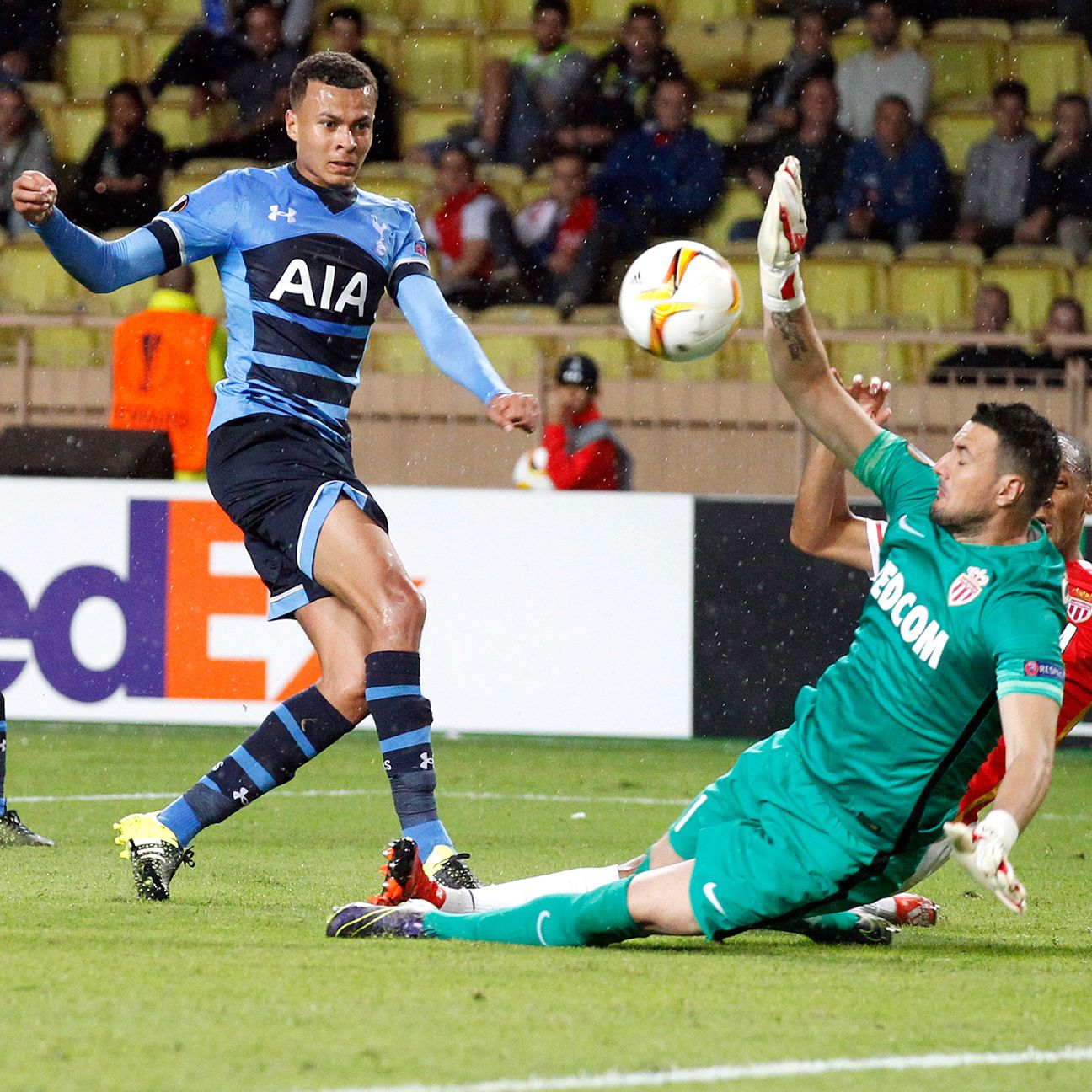 England call-up Dele Alli helped Spurs pick up a valuable away point at Monaco.