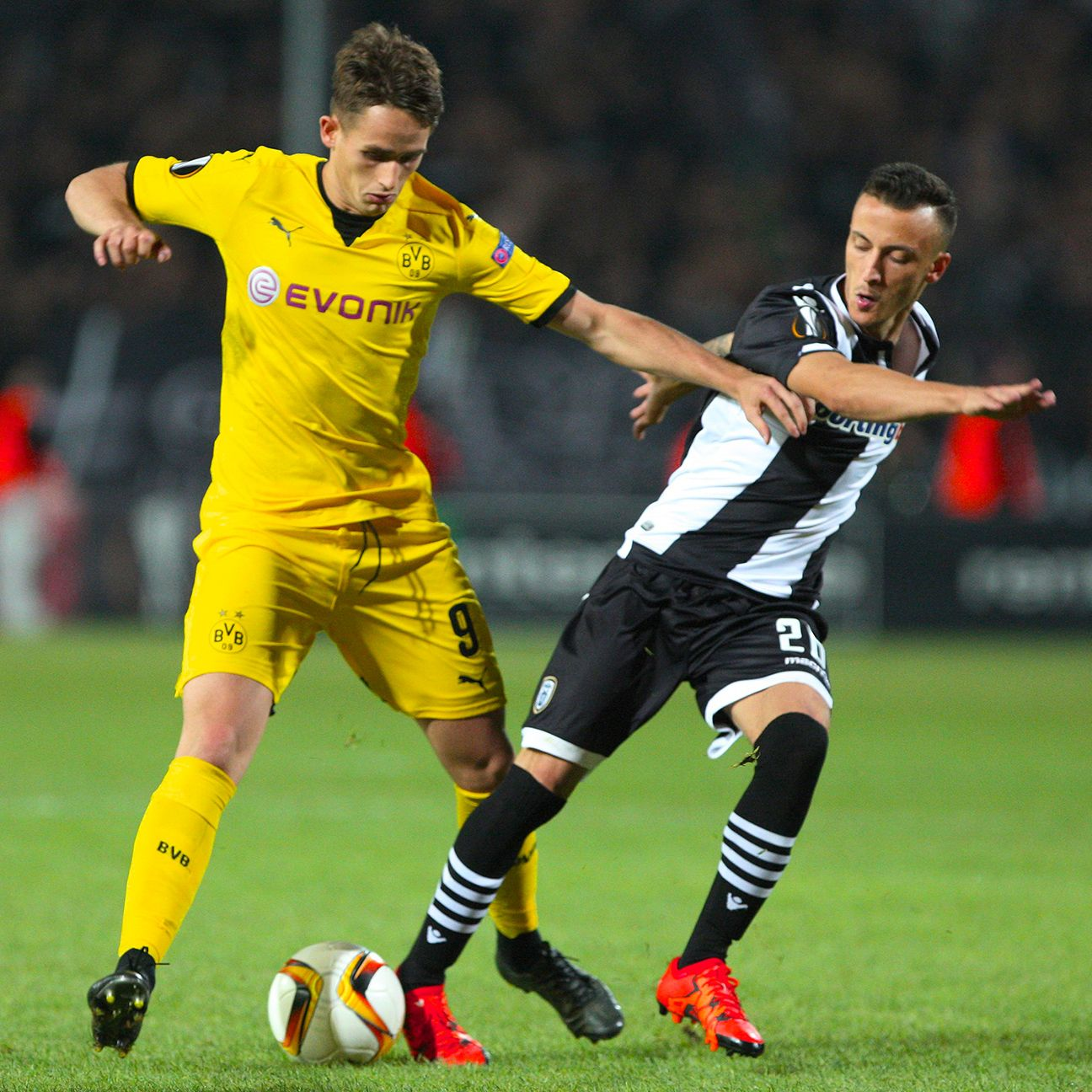 Adnan Januzaj's performance against PAOK was riddled with mistakes.