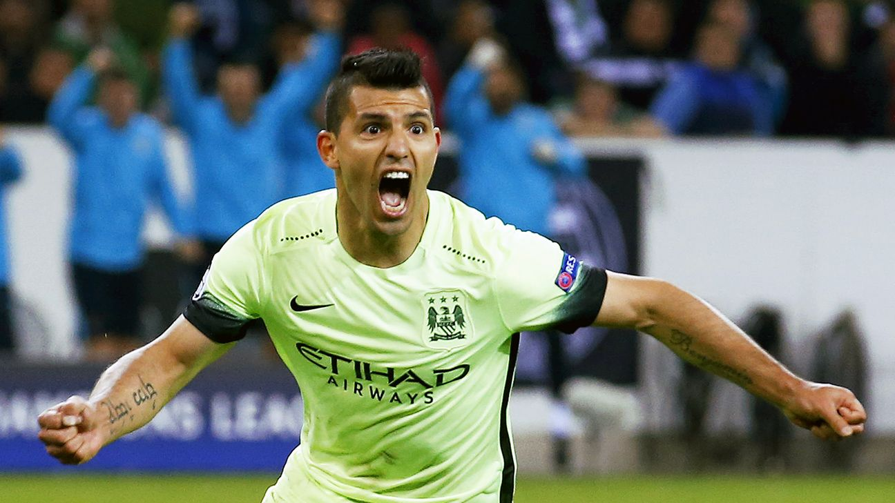 Real Madrid want Man City ace Sergio Aguero if transfer ban s