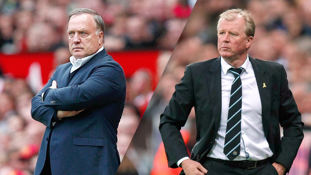 Dick Advocaat is no longer manager at Sunderland. Could Newcastle's Steve McClaren be the next head coach out of work?