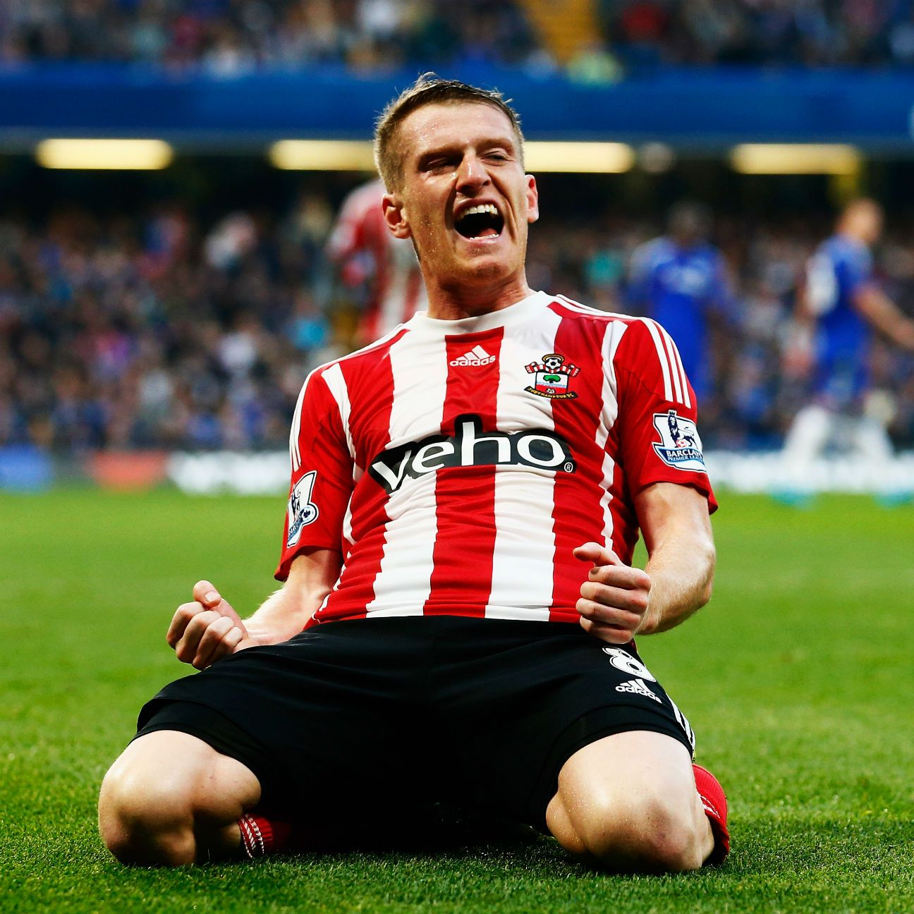 Steven Davis has two goals in 11 Premier League matches this season for Southampton.