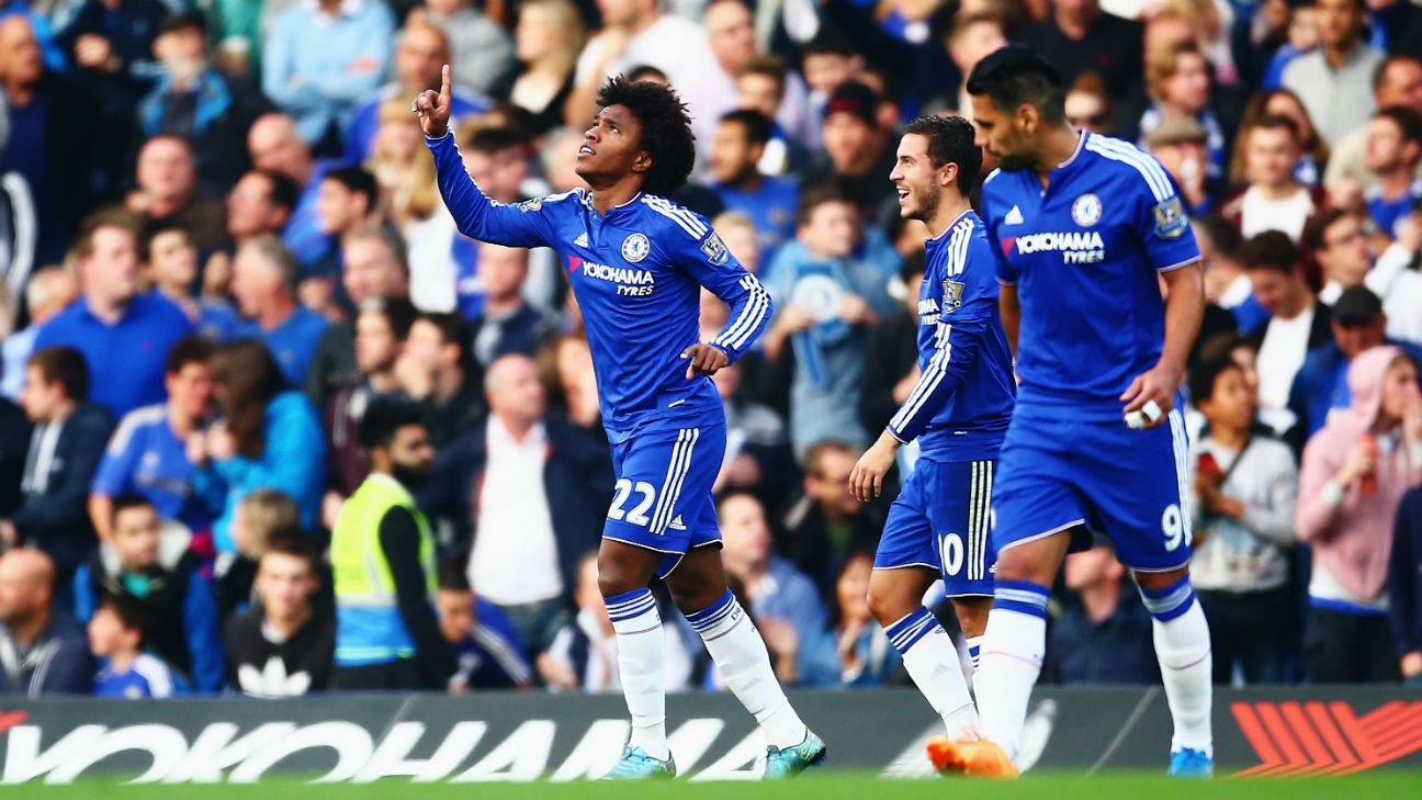 Chelsea will need the creative playmaking of Willian to unlock Southampton's sturdy defence.