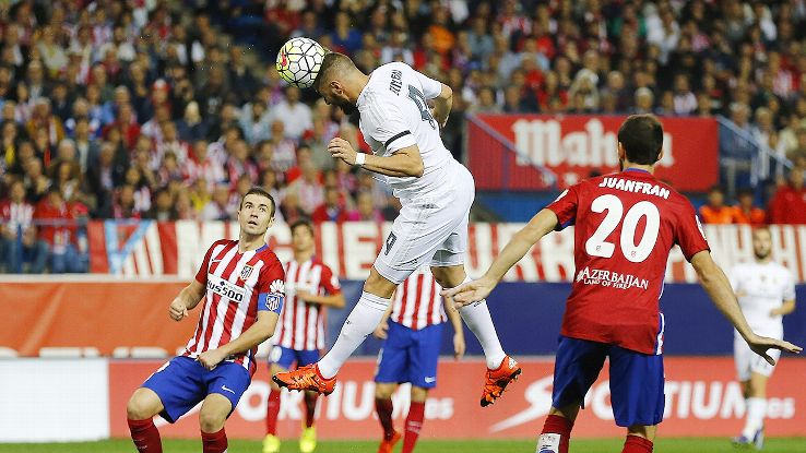 Real Madrid showed little attacking impetus following Karim Benzema's early opener.