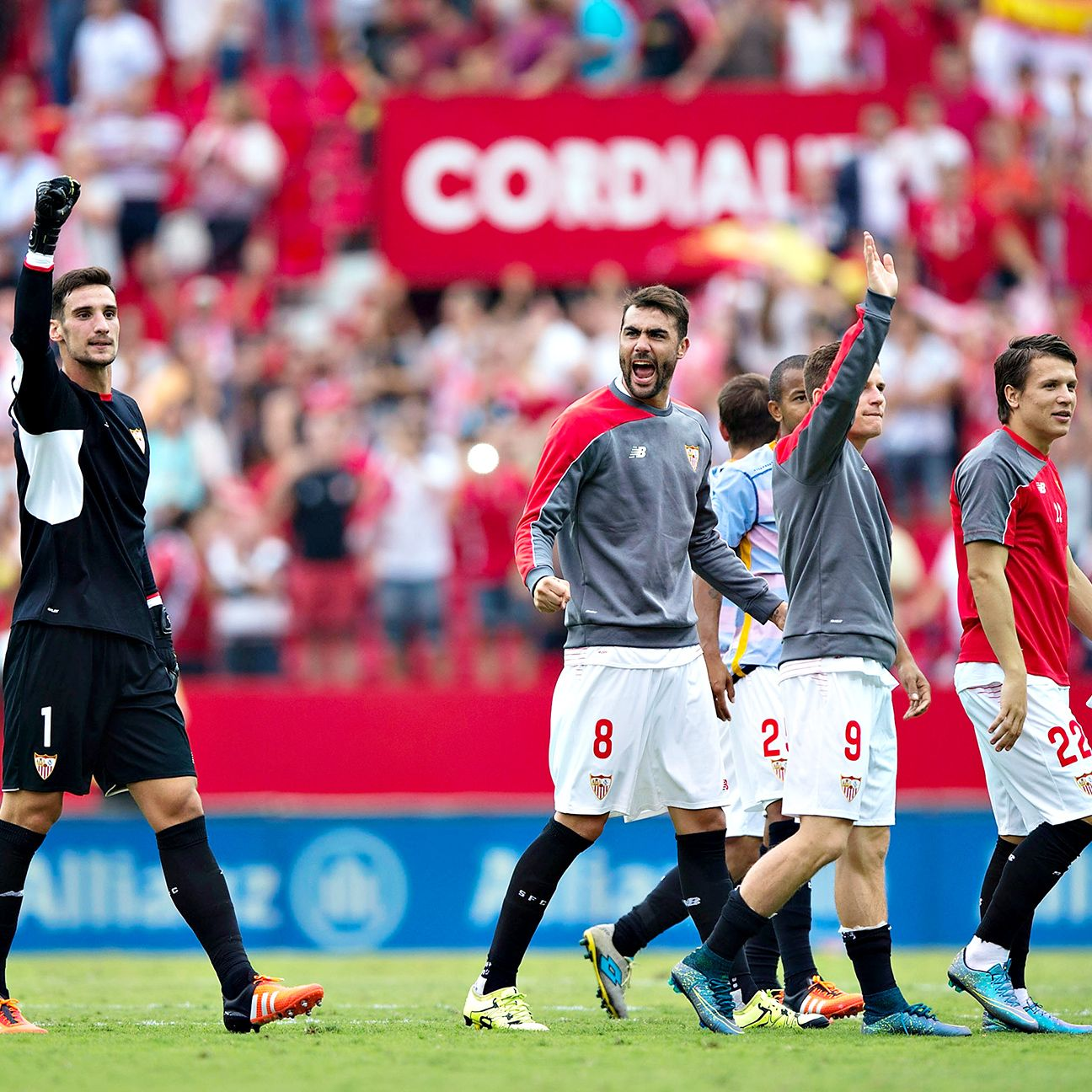 Sergio Rico and Sevilla collected just their second league victory of the season against Barcelona on Saturday.