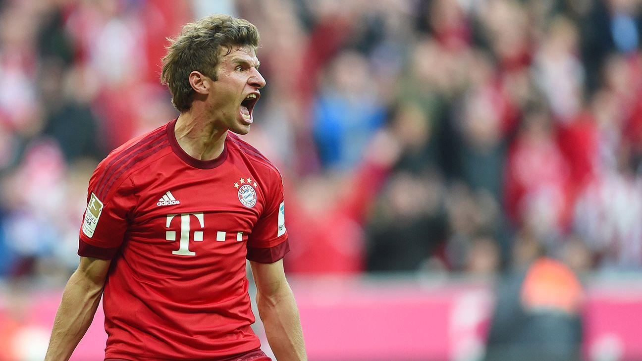 Thomas Muller and Bayern Munich continue to wreak havoc on the Bundesliga after crushing Dortmund 5-1 on Sunday.