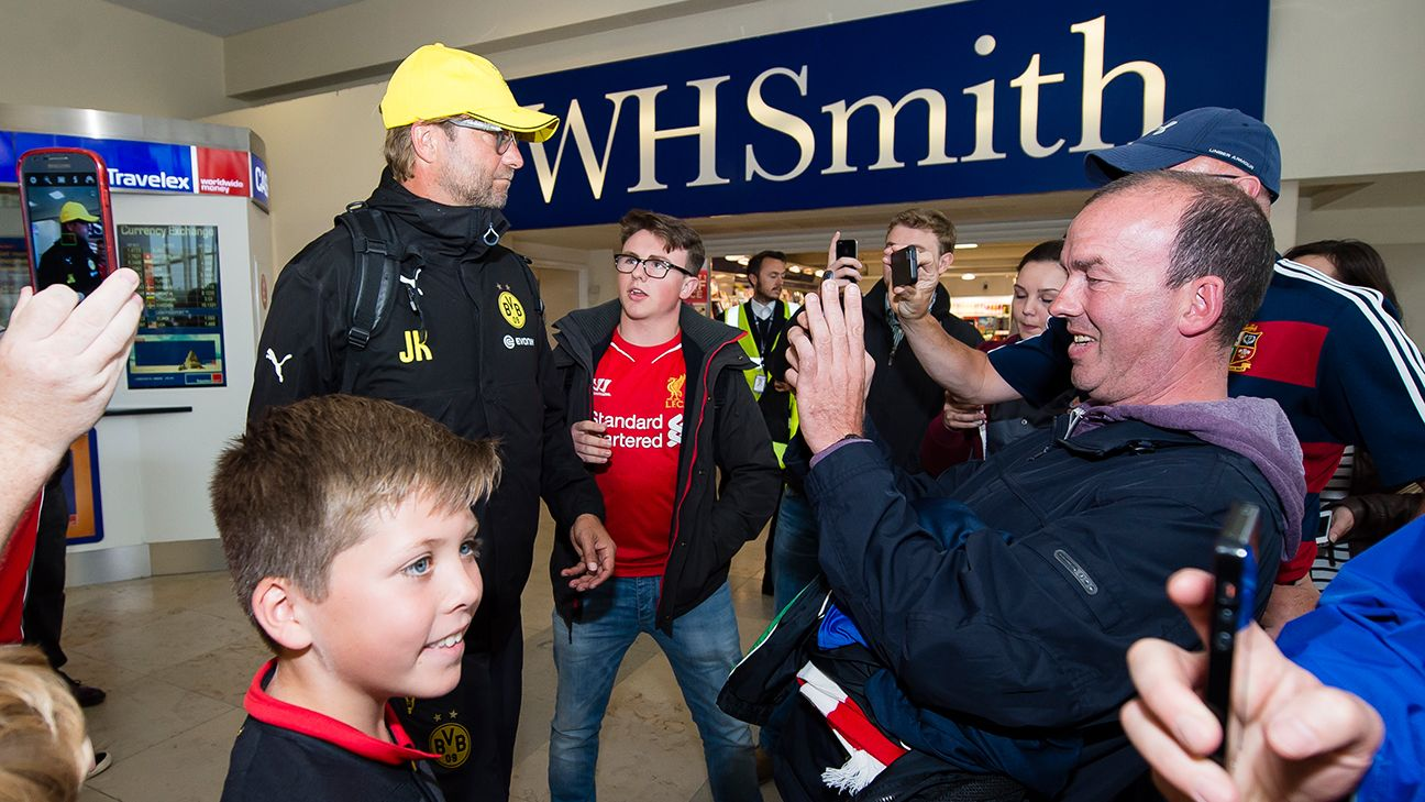 Even when he was still manager of Borussia Dortmund, Klopp was a favourite of Liverpool supporters.