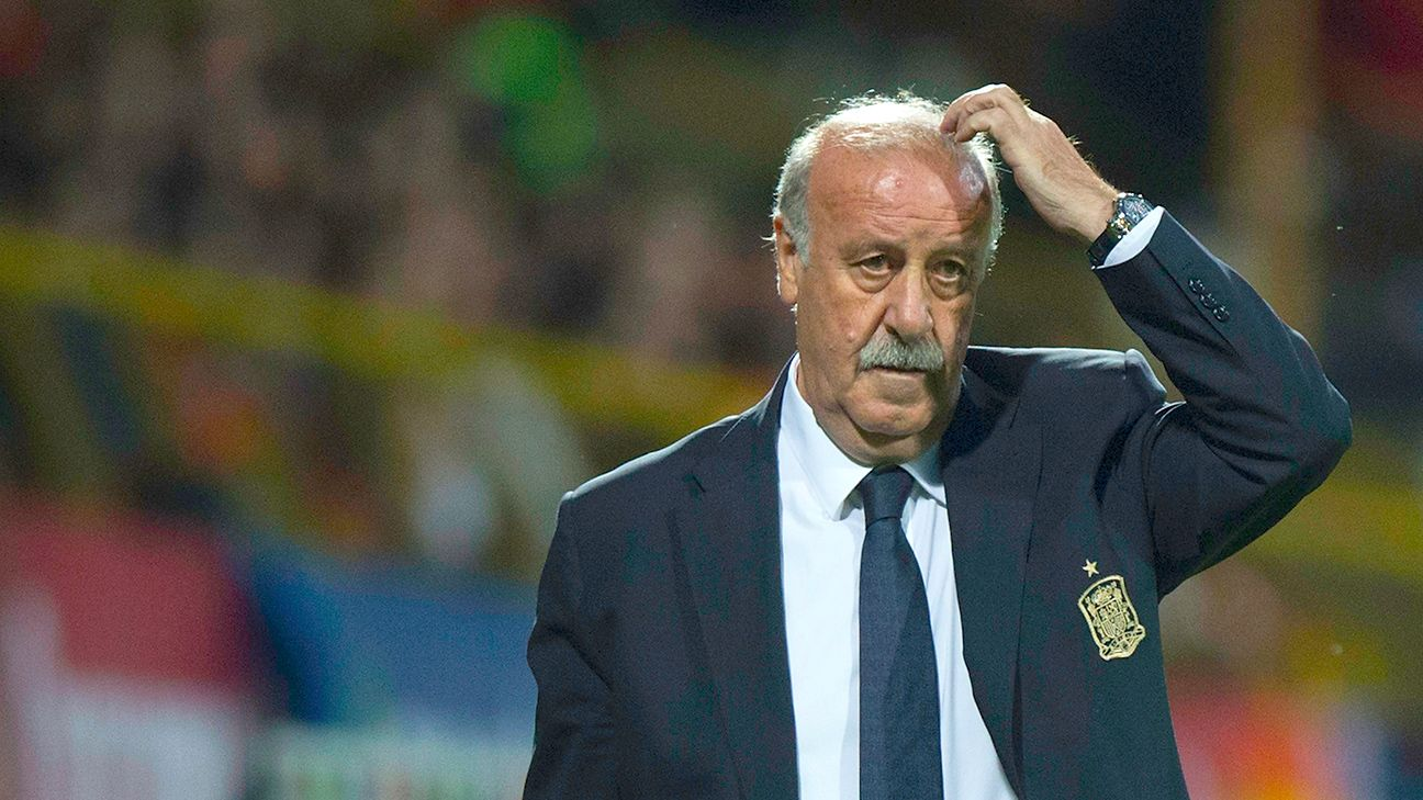 Vicente del Bosque has had to use a different back four combination in nearly every one of Spain's Euro 2016 qualifiers.