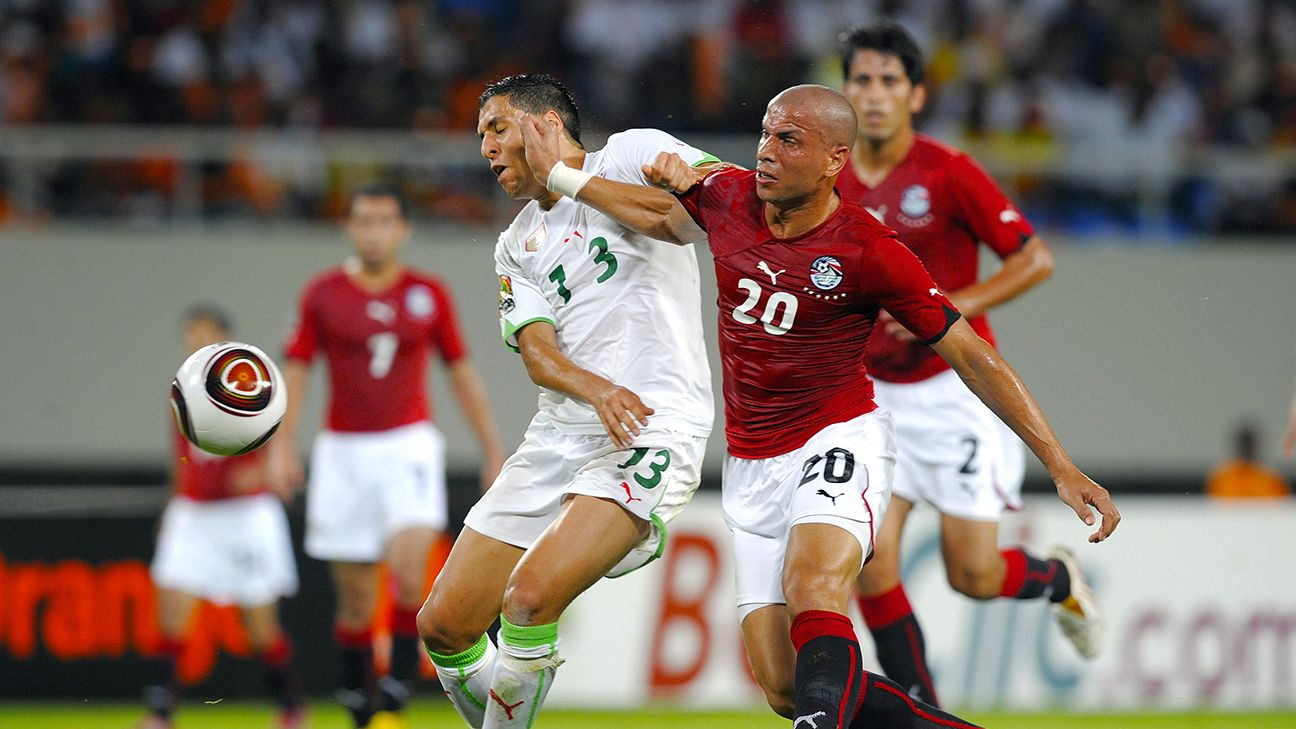 Wael Gomaa of Egypt vs. Algeria