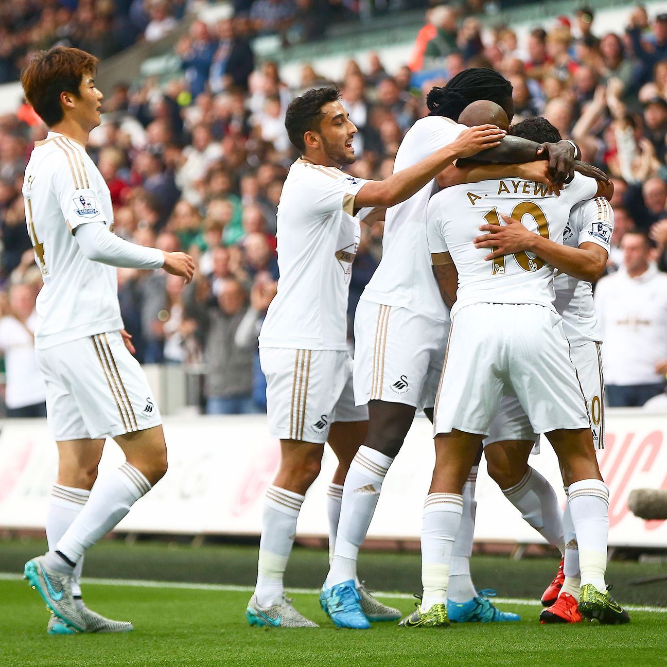 Swansea will be out to collect their first win since Aug. 30 when they face Stoke on Monday.